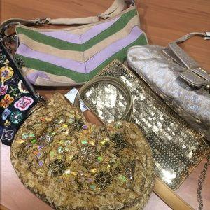Lot of 5 New York & Company handbags